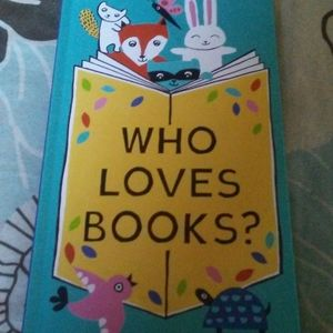 A FLIP-FLAP BOOK WHO LOVES BOOKS?